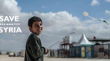 Kite Flying in Zaatari