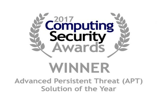 Computing Security Awards Win