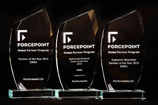 Performanta Forcepoint Awards