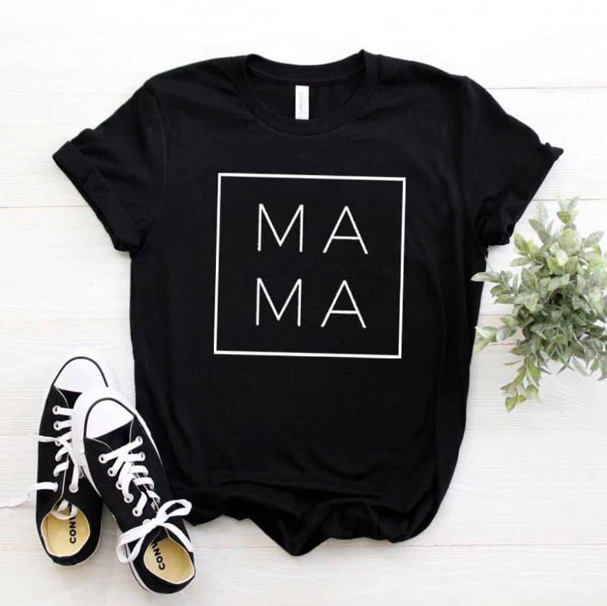 """""""Mama Square"""" moteriški marškinėliai"""