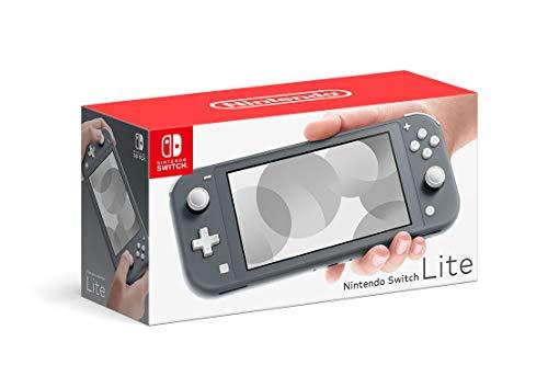 Nintendo Switch Lite – Pilka nešiojama žaidimų konsolė