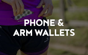 Belts and Waistpacks - Phone and arm wallets