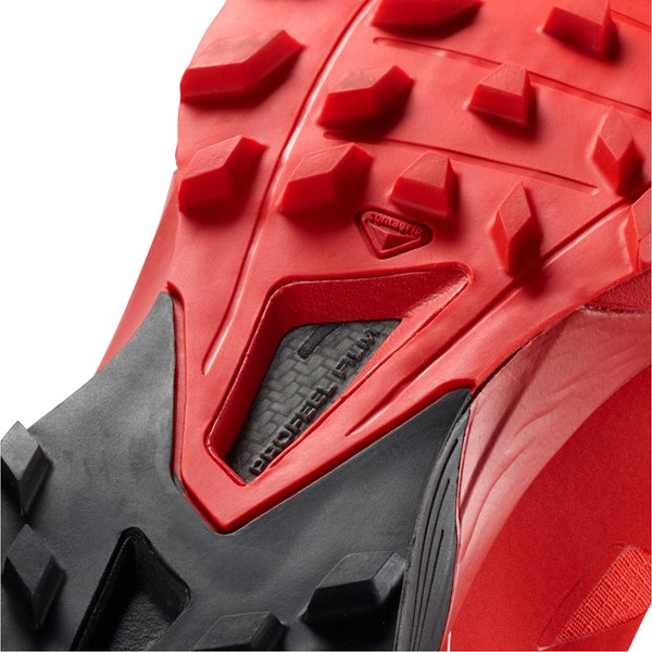 5fc5e4863 Salomon Unisex S-Lab Sense 6 SG | Racing Red / Black