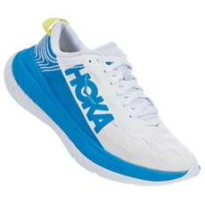 Hoka Men's Carbon X | White / Blue
