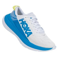 Hoka Women's Carbon X | White / Blue
