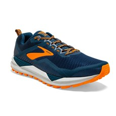 Brooks Men's Cascadia 14 | Poseidon / Orange