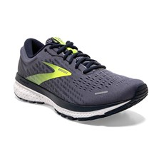 Brooks Men's Ghost 13 | Grey / Navy / Nightlife