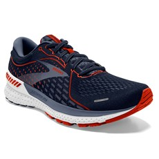 Brooks Men's Adrenaline GTS 21 | Navy / Red Clay