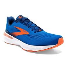 Brooks Men's Launch GTS 8   Blue / Orange / White