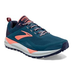 Brooks Women's Cascadia 14 | Desert Flower / Navy