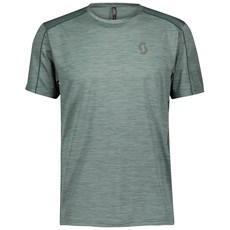 Scott Men's Trail Run S/SL Shirt | Smoked / Green