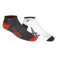 Asics Unisex Lightweight Sock (2 Pack) | Dark Grey