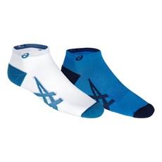 Asics Unisex Lightweight Sock (2 Pack) | Directoire Blue