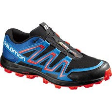 Salomon Men's Speedtrak | Black / Blue Yonder