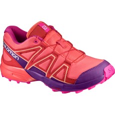 Salomon Junior Speedcross | Living Coral / Acai