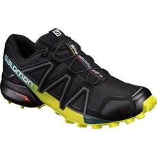 Salomon Men's Speedcross 4   Black / Sulphur Spring