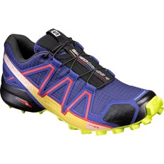 Salomon Women's Speedcross 4 | Spectrum Blue / Sulphur Spring