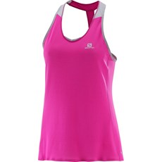 Salomon Women's Sense Pro Tank | Rose Violet / Alloy