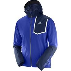 Salomon Men's Bonatti Pro WP Jacket | Surf the Web / Dress Blue