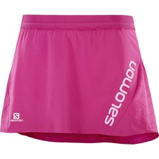 Salomon Women's Lightning Pro Skort | Pink Yarrow
