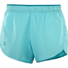 Salomon Women's Agile Short | Blue Curacao