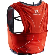 Salomon Advance Skin 12 Set | Fiery Red / Graphite