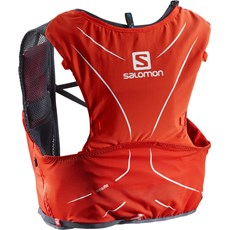 Salomon Advance Skin 5 Set | Fiery Red / Graphite