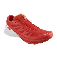 Salomon Unisex S-Lab Sense 7 | Racing Red / White