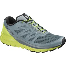 Salomon Men's Sense Pro Max | Stormy Weather / Acid Lime