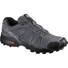 Salomon Men's Speedcross 4 Wide | Dark Cloud / Black