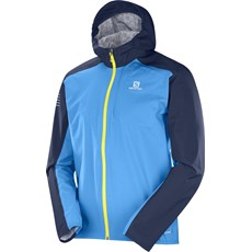 Salomon Men's Bonatti WP Jacket | Hawaiian / Night Sky