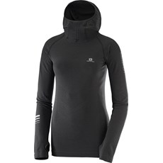 Salomon Women's Lightning Pro Hoodie | Black