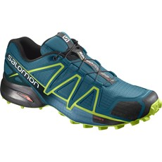 Salomon Men's Speedcross 4 | Deep Lagoon / Acid Lime
