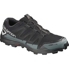 Salomon Unisex Speedspike CS | Black / Mallard Blue