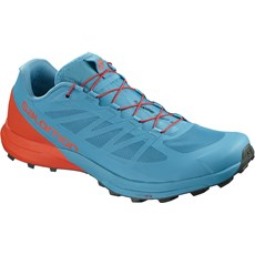 Salomon Men's Sense Pro 3 | Fjord Blue / Cherry Tomato