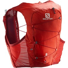 Salomon Active Skin 8 Set | Valiant Poppy / Red Dahlia