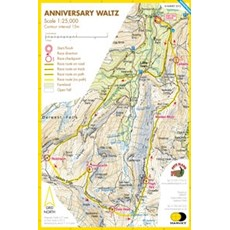 Harvey Newlands Memorial Race Map (Anniversary Waltz) | Mixed