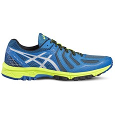 Asics Men's Fuji Attack 5 | Thunder Blue / Safety Yellow