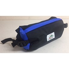 Pete Bland Bantam Bumbag (Royal) | Black / Royal Blue