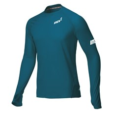 Inov-8  Men's Base Elite LS | Blue Green