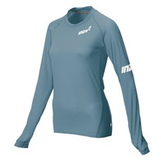 Inov-8  Women's Base Elite LS | Blue Grey