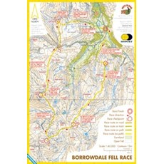 Harvey Borrowdale Race Map | Mixed