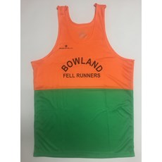 Bowland FR Men's Vest | Orange / Green