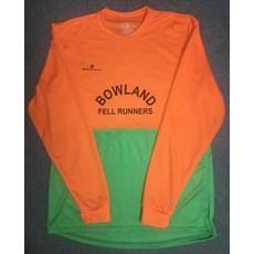 Bowland FR Men's LS | Orange / Green