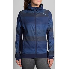Brooks Women's Canopy Jacket | Martina Haze / Navy