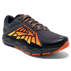 Brooks Men's Caldera | Anthracite / Red Orange