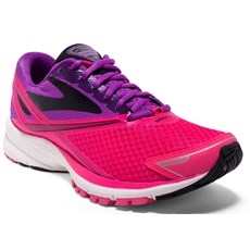 Brooks Women's Launch 4 | Purple Cactus Flower / Diva Pink
