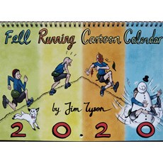 Fell Running Cartoon Calendar (Jim Tyson) | Multi