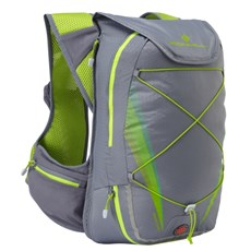 Ron Hill Commuter Xero 10L + 5L Vest | Granite / Lime