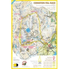 Harvey Coniston Race Map | Mixed